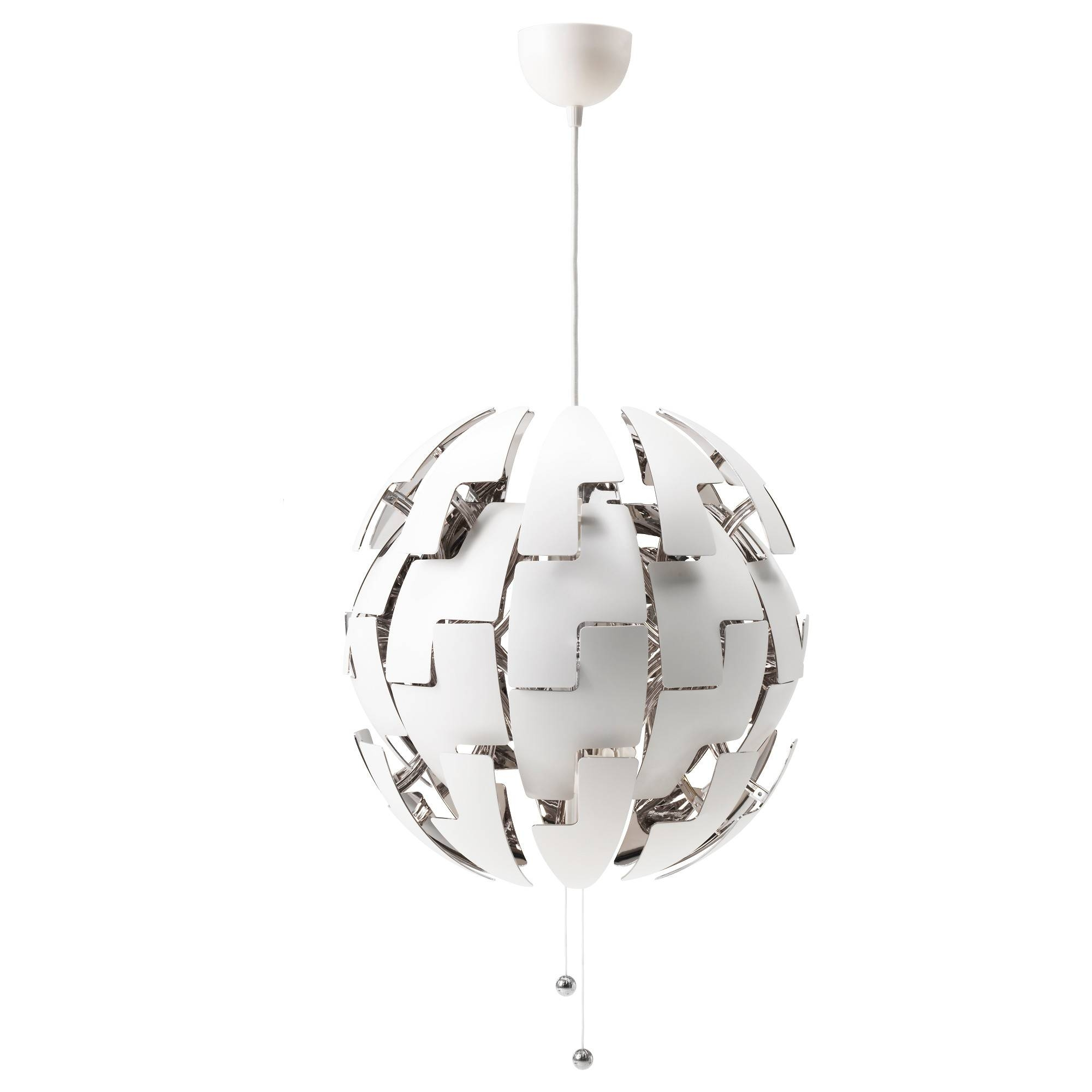 Ikea Ps 2014 Pendant Lamp – White/copper Color – Ikea Throughout Coloured Cord Pendant Lights (View 8 of 15)