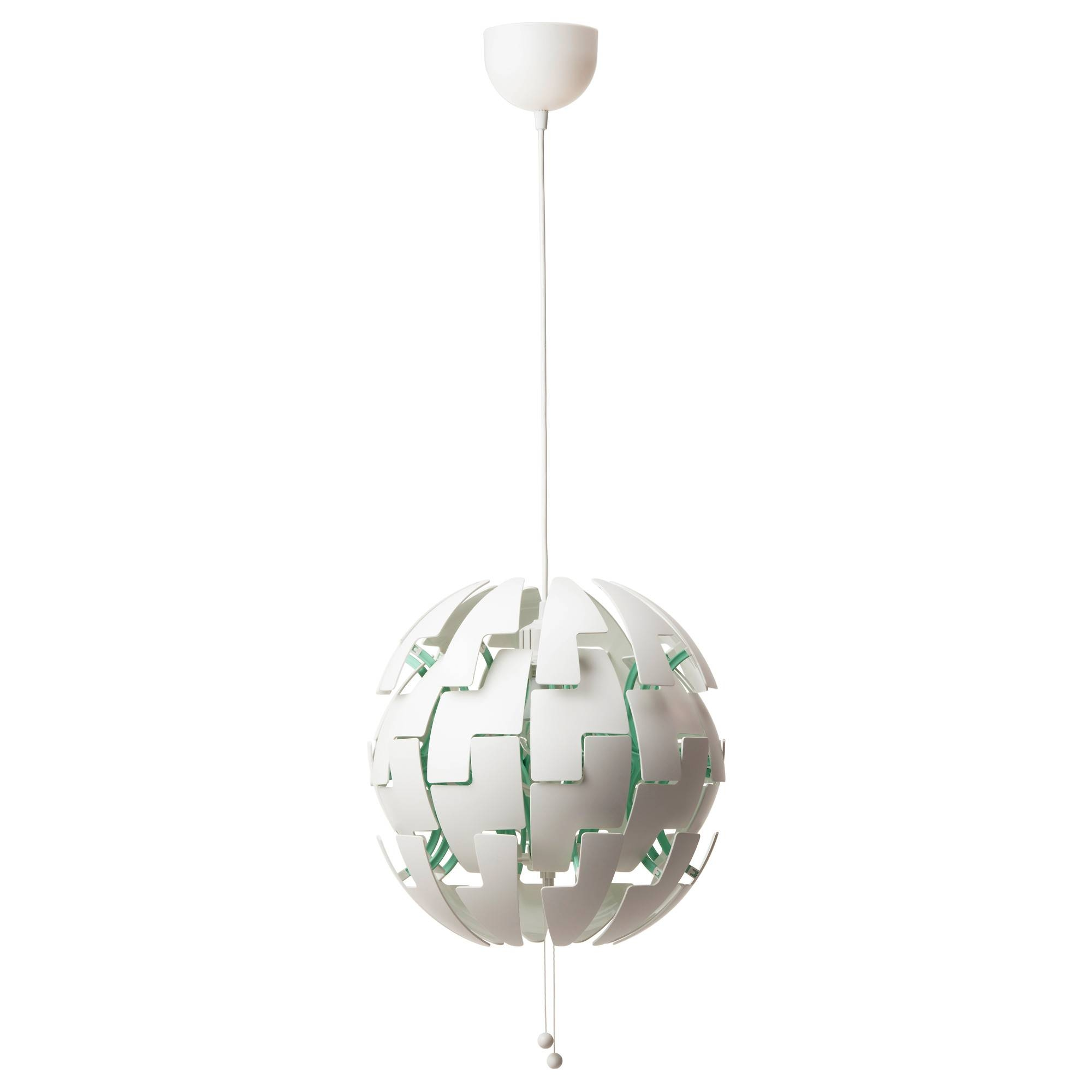 Ikea Ps 2014 Pendant Lamp White/turquoise – Ikea Inside Ikea Globe Lights (View 9 of 15)