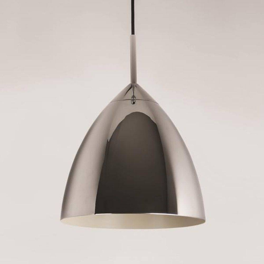 Impressive On Chrome Pendant Light Related To House Decor Ideas Pertaining To Quorum Pendant Lights (View 6 of 15)