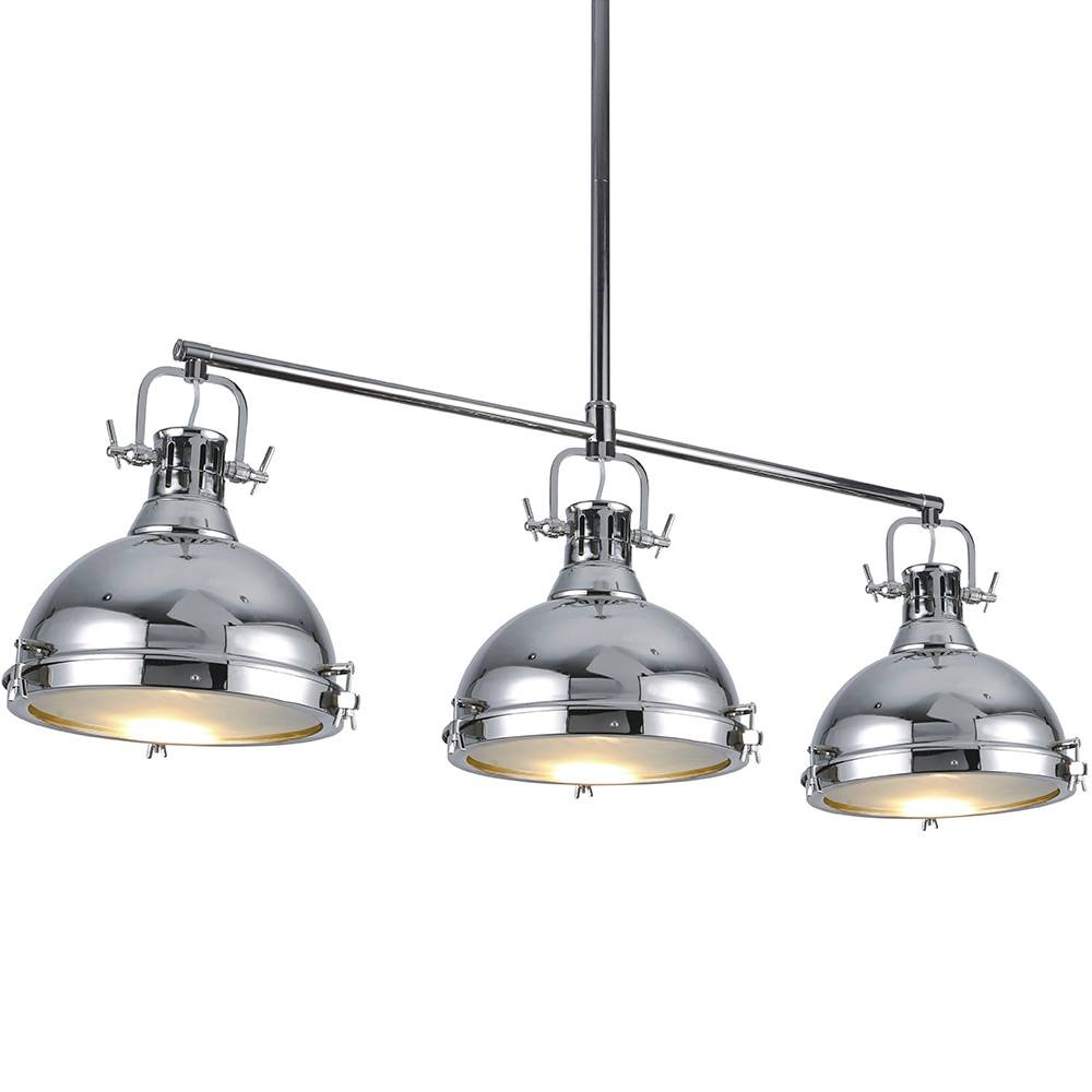 Impressive On Chrome Pendant Light Related To House Decor Ideas Regarding Quorum Pendant Lights (View 14 of 15)