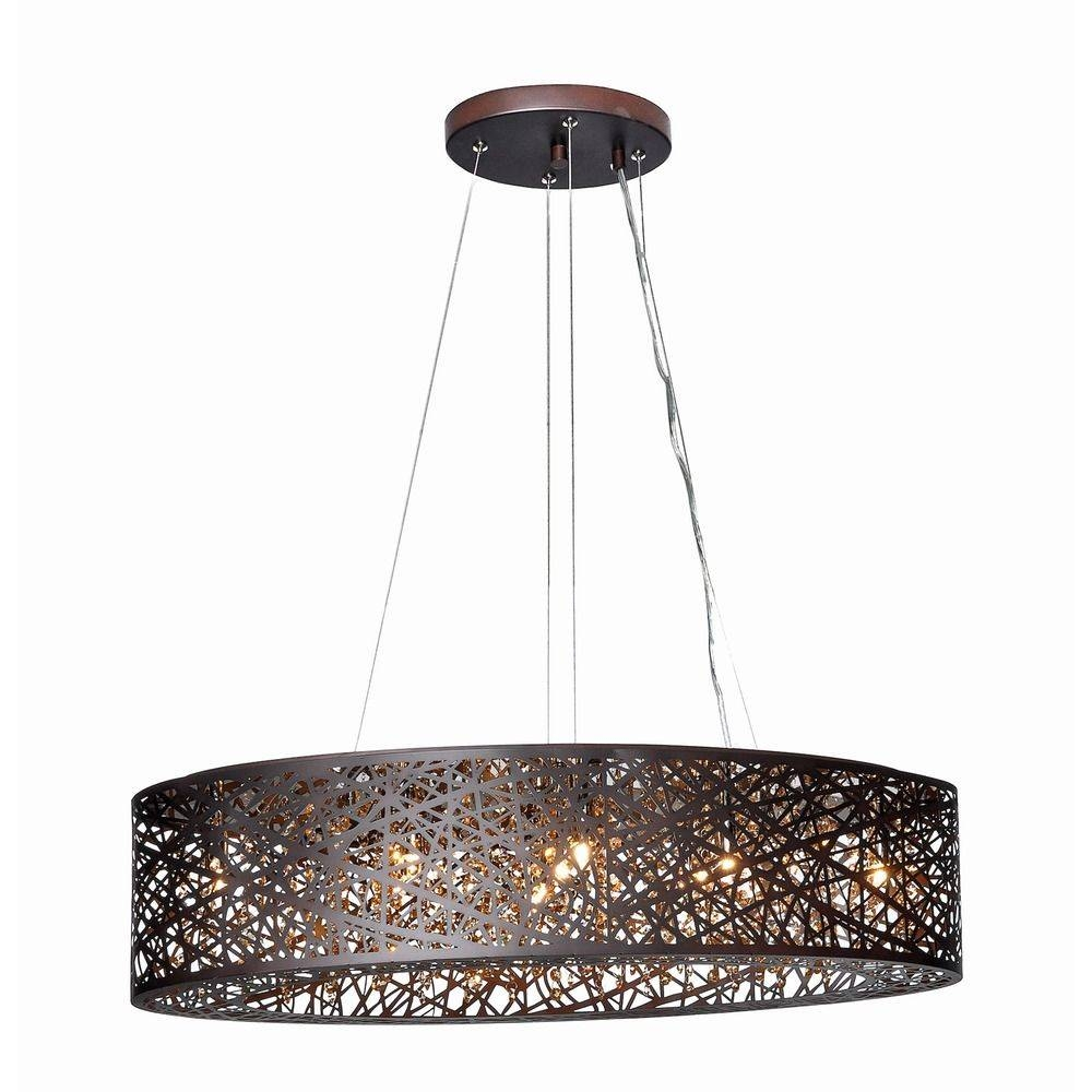 Inca Bronze Pendant Light With Oval Shade | E21310-10Bz pertaining to Oval Pendant Lights Fixtures (Image 8 of 15)