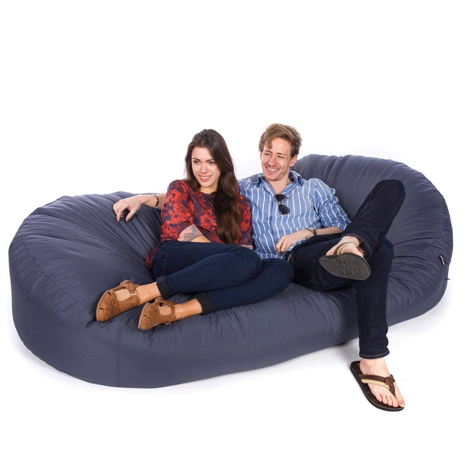 Indoor/outdoor Sofa Bed Bean Bag regarding Bean Bag Sofas and Chairs (Image 15 of 15)