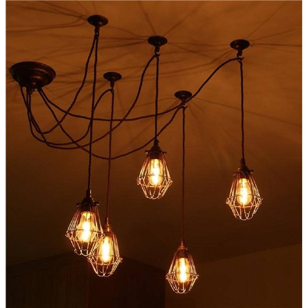 Featured Photo of Industrial Style Pendant Light Fixtures