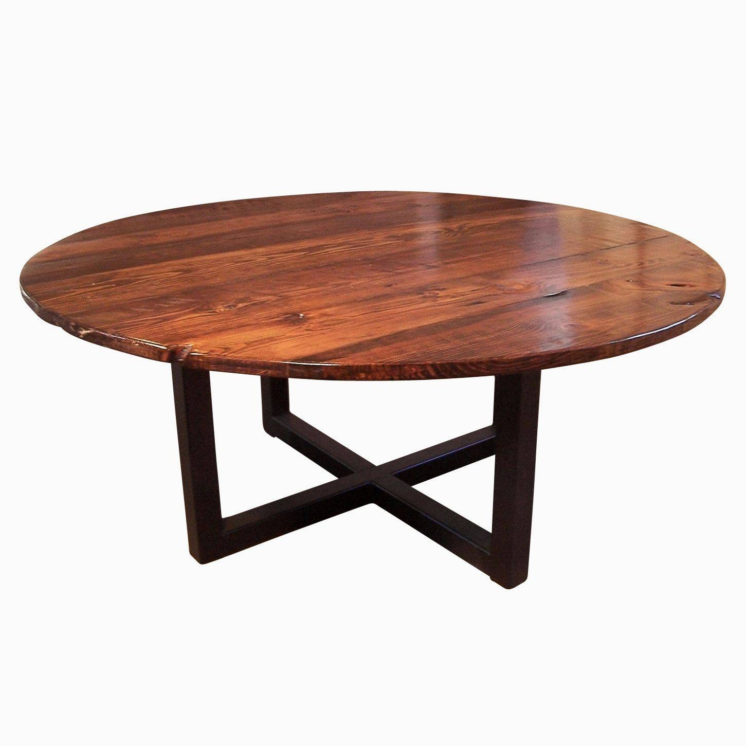 Industrial Coffee Tables | Custommade inside Industrial Round Coffee Tables (Image 9 of 15)