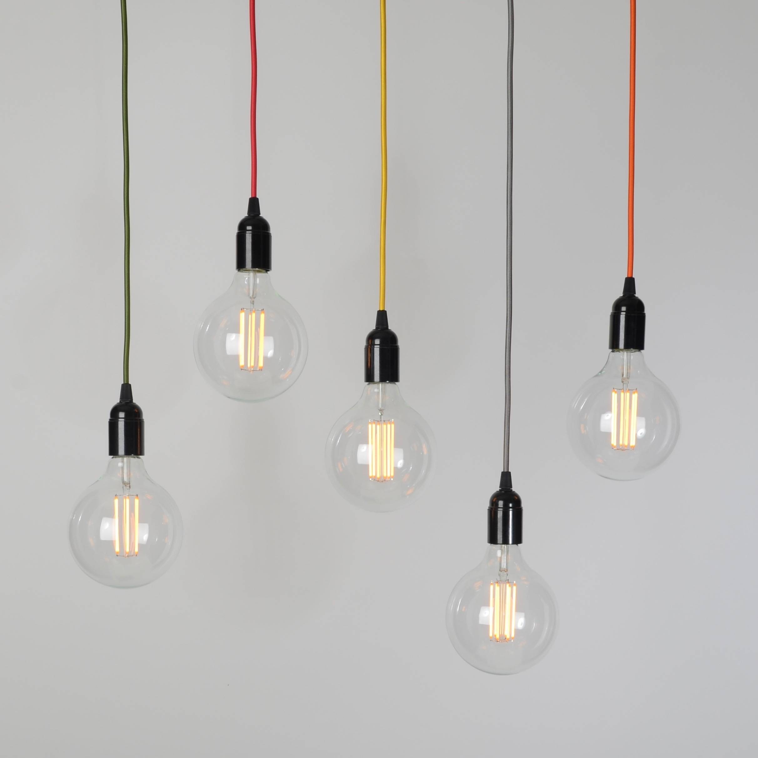 Industrial Lighting | Trainspotters In Giant Lights Bulb Pendants (Photo 13 of 15)