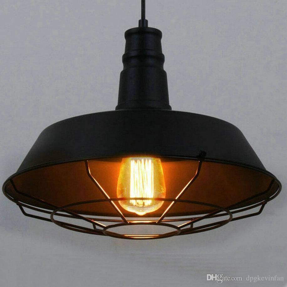 Industrial Pendant Light Y Stamped Lighting Edison Bulb Chandelier regarding Industrial Pendant Lights (Image 6 of 15)
