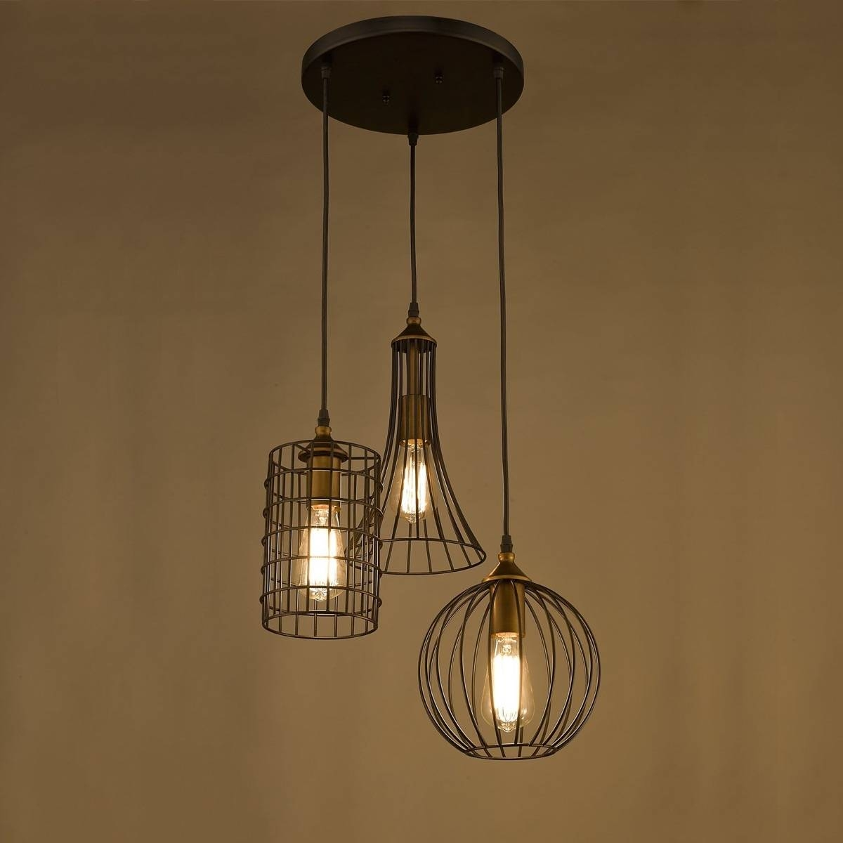 Industrial Pendant Lighting Fixtures : Some Style Industrial throughout Industrial Style Pendant Lights Fixtures (Image 6 of 15)