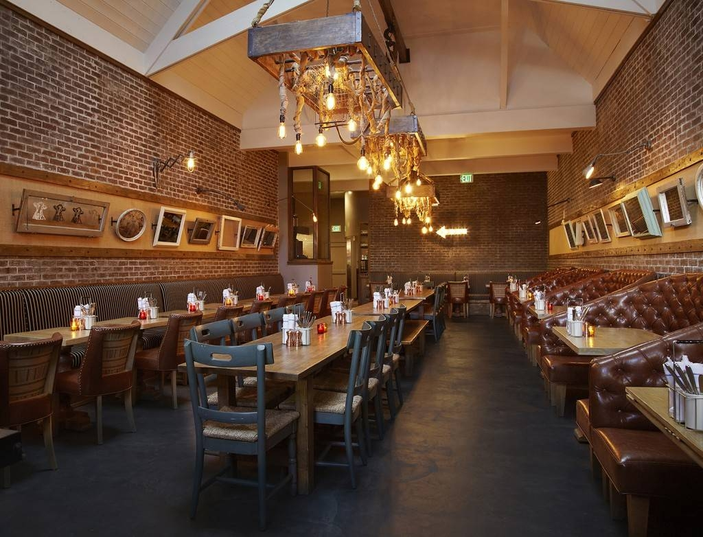 Industrial Pendant, Vintage Light Bulbs Grace New La Eatery | Blog within Restaurant Lighting Fixtures (Image 8 of 15)