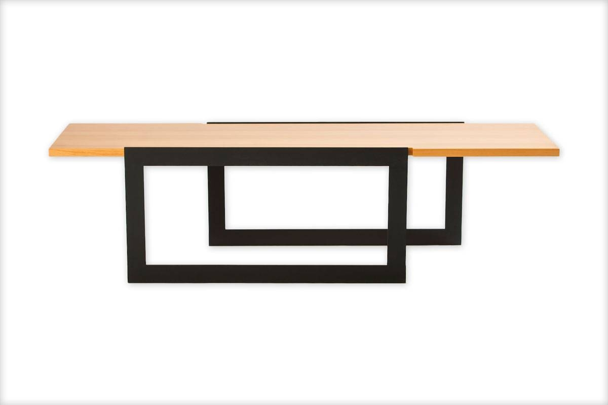 Industrial Steel And Wood Coffee Table with regard to Wood and Steel Coffee Table (Image 9 of 15)