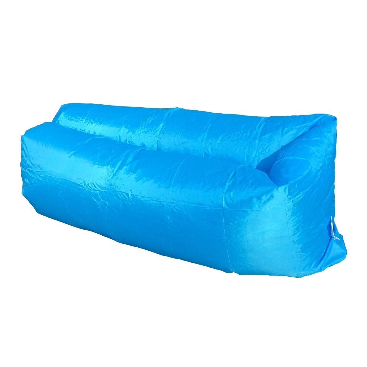 Inflatable Sofa Chair Air Bed Luxury Seat Camping Festival Holiday within Inflatable Sofas and Chairs (Image 7 of 15)