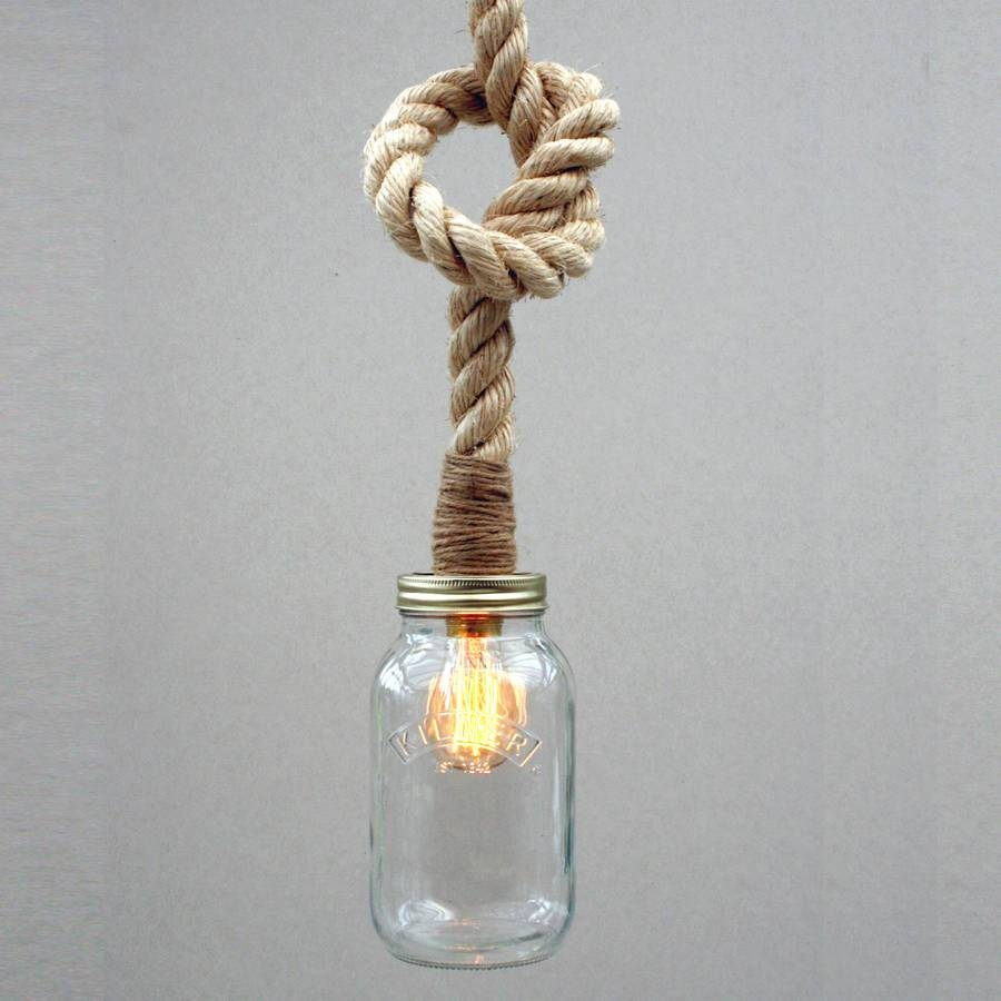 Interesting Rope Pendant Light Fancy Pendant Remodel Ideas With inside Fancy Rope Pendant Lights (Image 12 of 15)