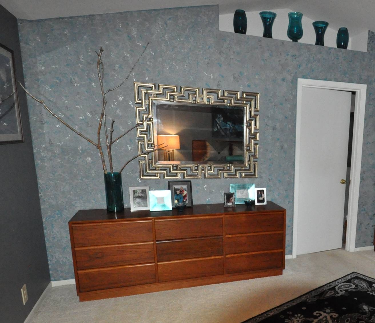 Interior Decoration Ideas Alongside Interesting Living Room Corner for Glitter Wall Mirrors (Image 9 of 15)