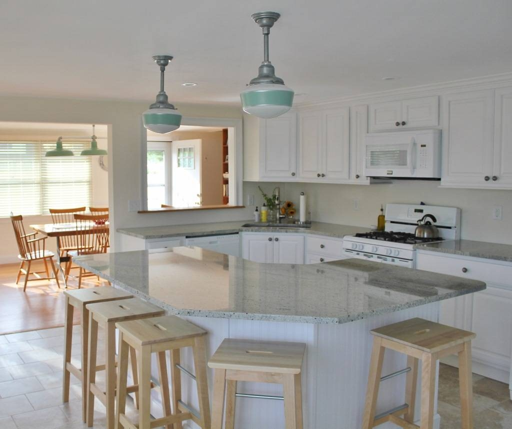 Interior Design: Enchanting Schoolhouse Electric With Pendant Within Schoolhouse Pendant Lighting For Kitchen (View 4 of 15)