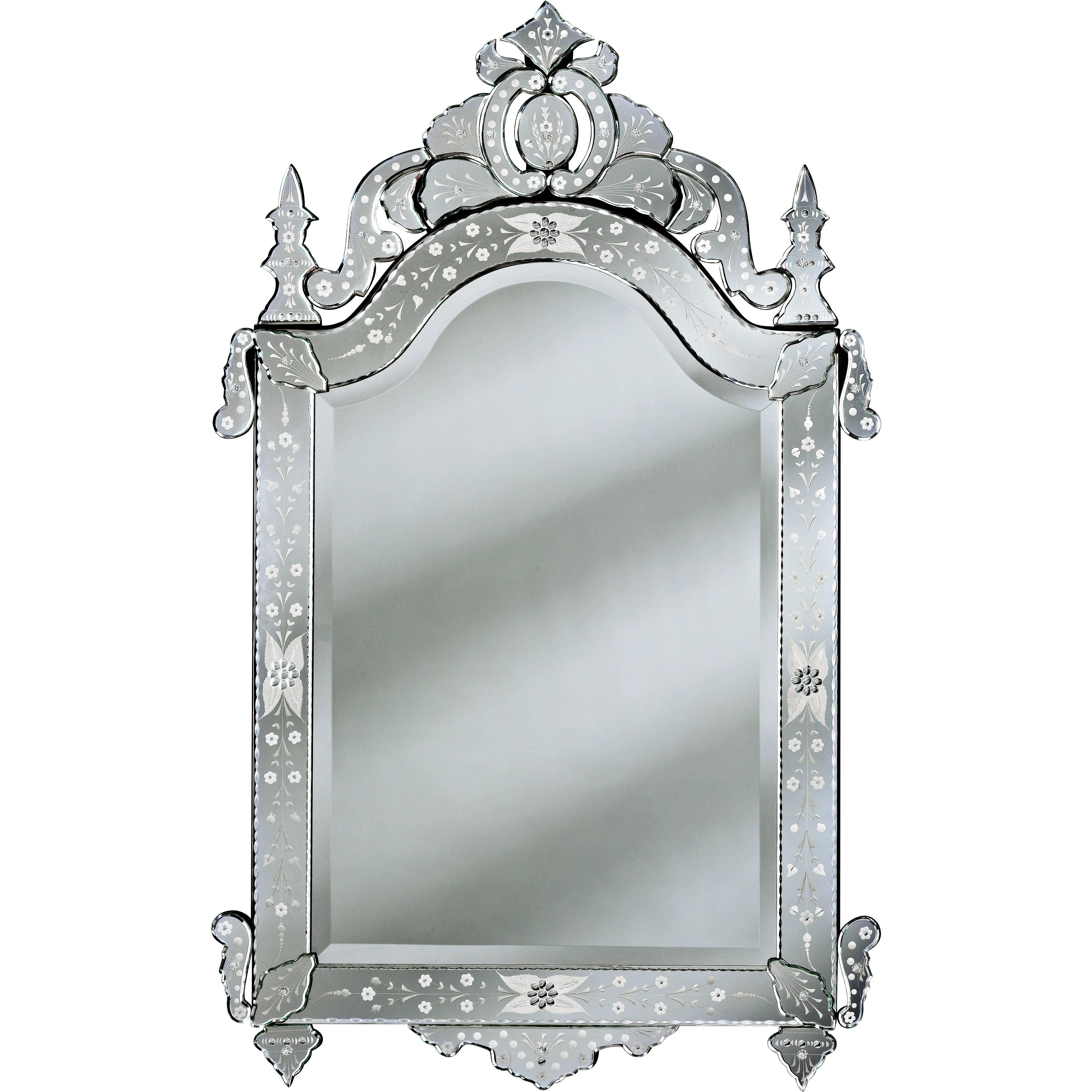 Interior: Mirrors Venetian Venetian Mirror Venetian Style Mirror intended for Black Venetian Mirrors (Image 6 of 15)