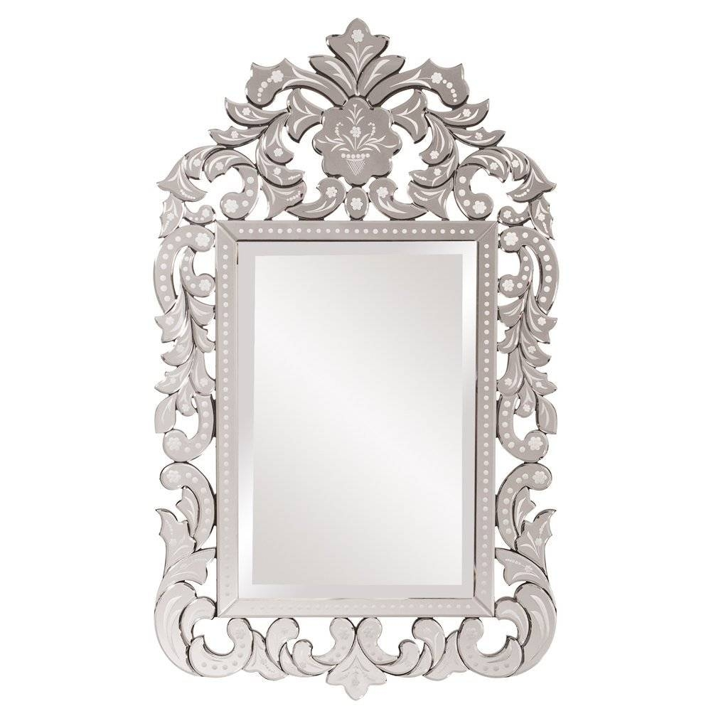 Interior: Vintage Venetian Mirror For Classic Interior Decor Intended For Cheap Ornate Mirrors (View 6 of 15)
