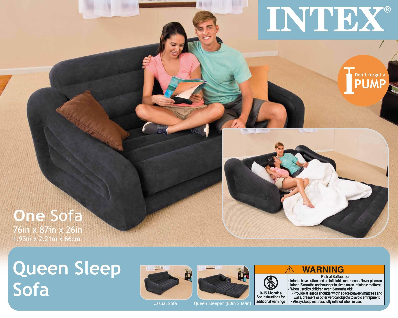 Featured Photo of Intex Queen Sleeper Sofas