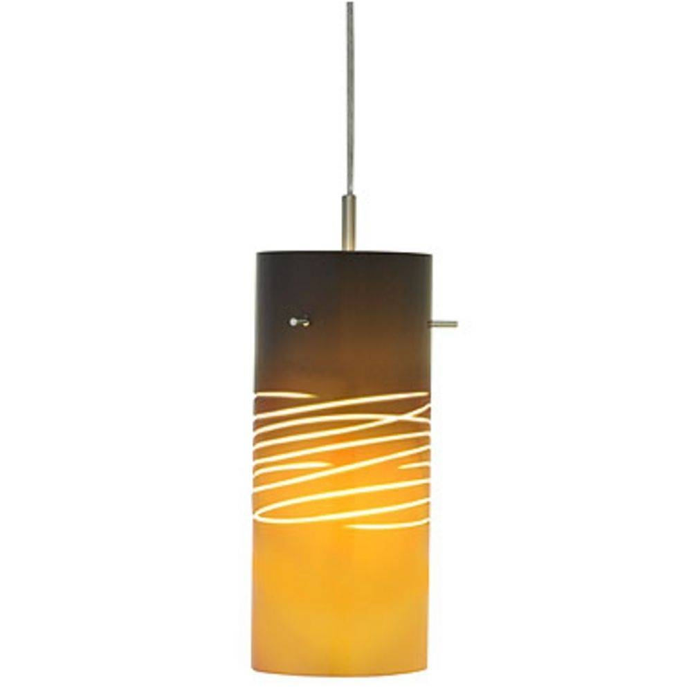Italian Art Glass Mini-Pendant Light | 82-3002B | Destination Lighting for Art Glass Mini Pendants (Image 8 of 15)