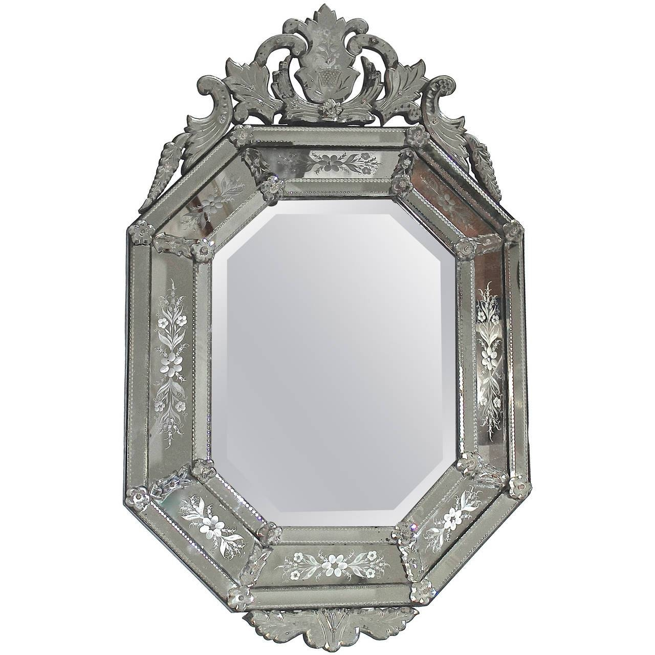 Featured Photo of Venetian Etched Glass Mirrors