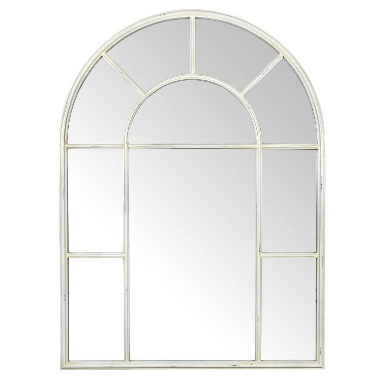 Ivory Arch Mirror Regarding White Arch Mirrors (View 4 of 15)