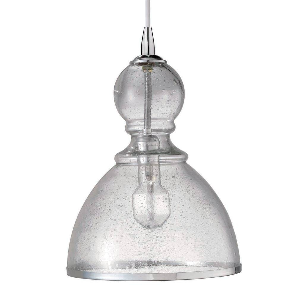 Jamie Young St Charles Seeded Glass Clear Large Pendant with regard to Jamie Young Pendant Lights (Image 12 of 15)
