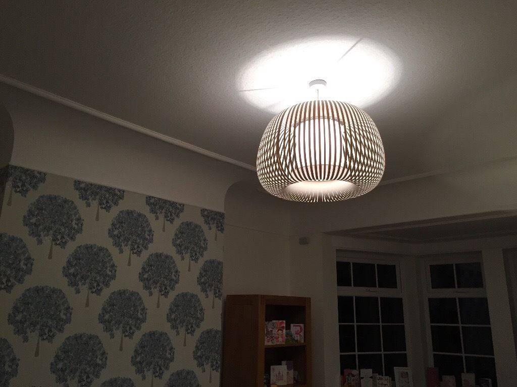 John Lewis Large Ribbon Pendant Light Shade | In Wetherby, West inside John Lewis Pendant Lights (Image 7 of 15)