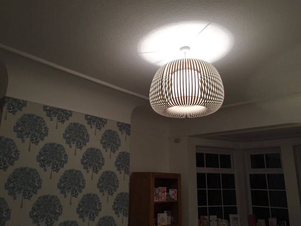 John Lewis Large Ribbon Pendant Light Shade | In Wetherby, West regarding John Lewis Lighting Pendants (Image 4 of 15)