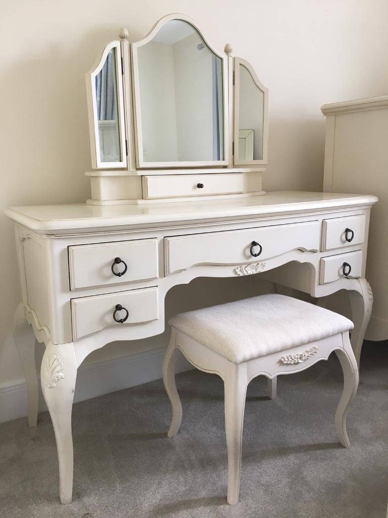 John Lewis Ornate Dressing Table, Mirror & Stool Set | In Swindon regarding Ornate Dressing Table Mirrors (Image 5 of 15)