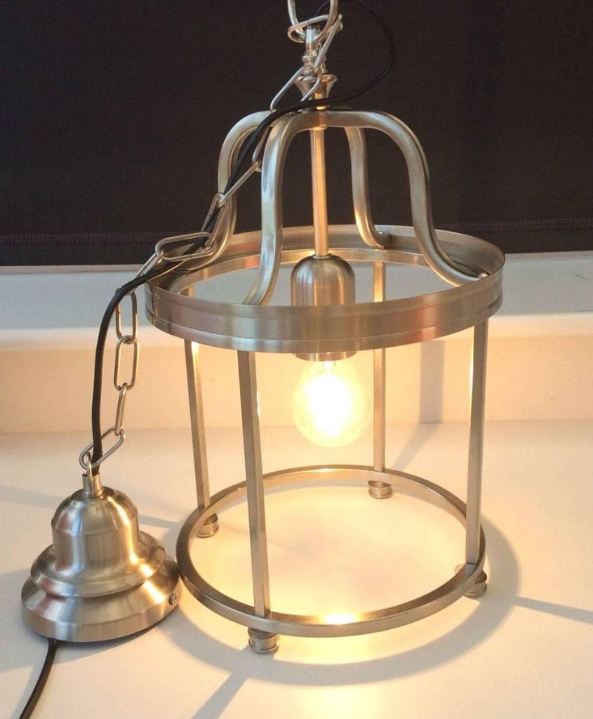 John Lewis Warwick Ceiling Metal Hanging Lantern Light Fitting for John Lewis Pendant Lights (Image 11 of 15)