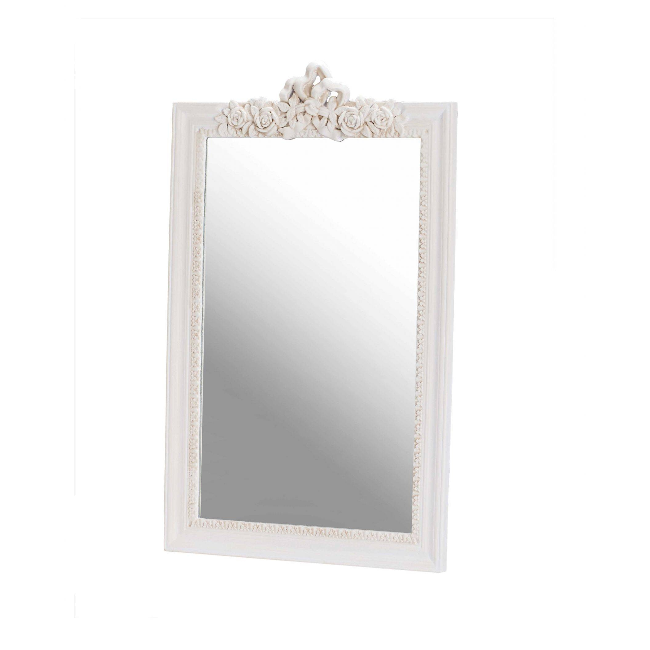 Juliette Antique French Style Wall Mirror | Shabby Chic Furniture With French Style Wall Mirrors (View 11 of 15)