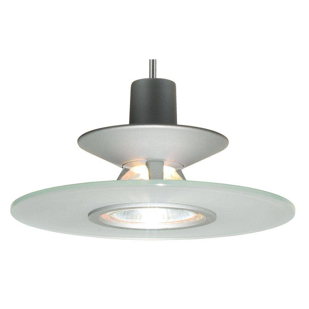 Juno 1 Light Frost Pendant Kit With Disc Glass Pkh P328 Frt – The Regarding Juno Pendant Lighting (View 4 of 15)
