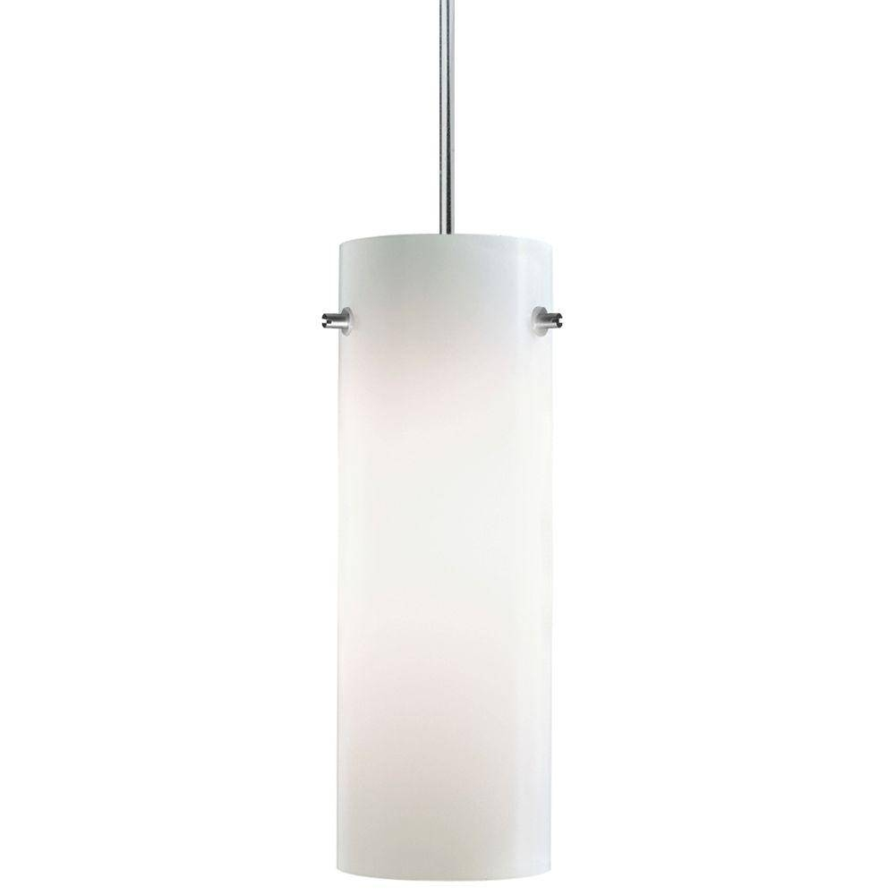 Juno 1 Light Opal Hanging Pendant Pkh P324 Opl – The Home Depot In Juno Pendant Lighting (View 2 of 15)