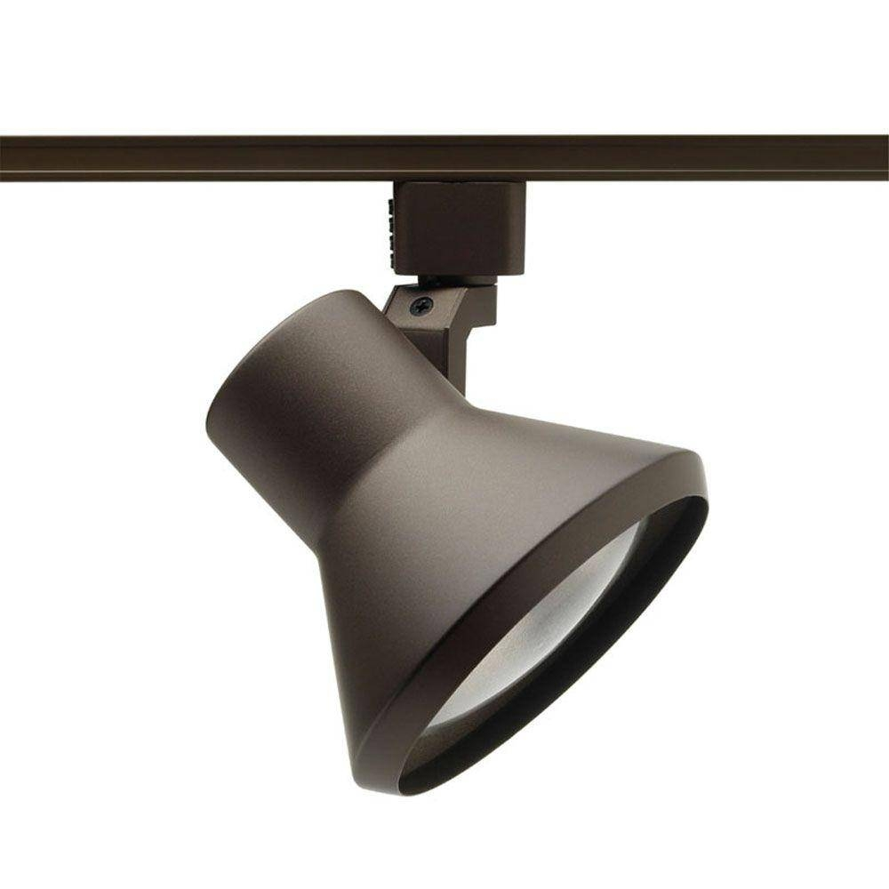Juno Trac Lites White Flared Step Light R552 Wh – The Home Depot Within Juno Track Lighting Pendants (Image 7 of 15)