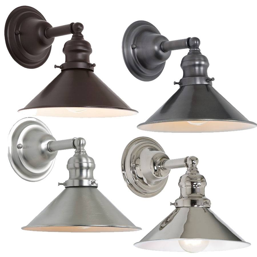 Jvi Designs 1210-M3 Union Square Retro Wall Sconce Lighting - Jvi with Union Lighting Pendants (Image 6 of 15)