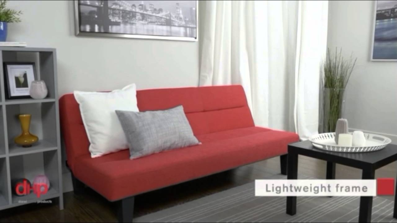 Kebo Futon Sofa & Bed Multicolor Convertible Sleeper Sofas - Youtube pertaining to Kebo Futon Sofas (Image 7 of 15)