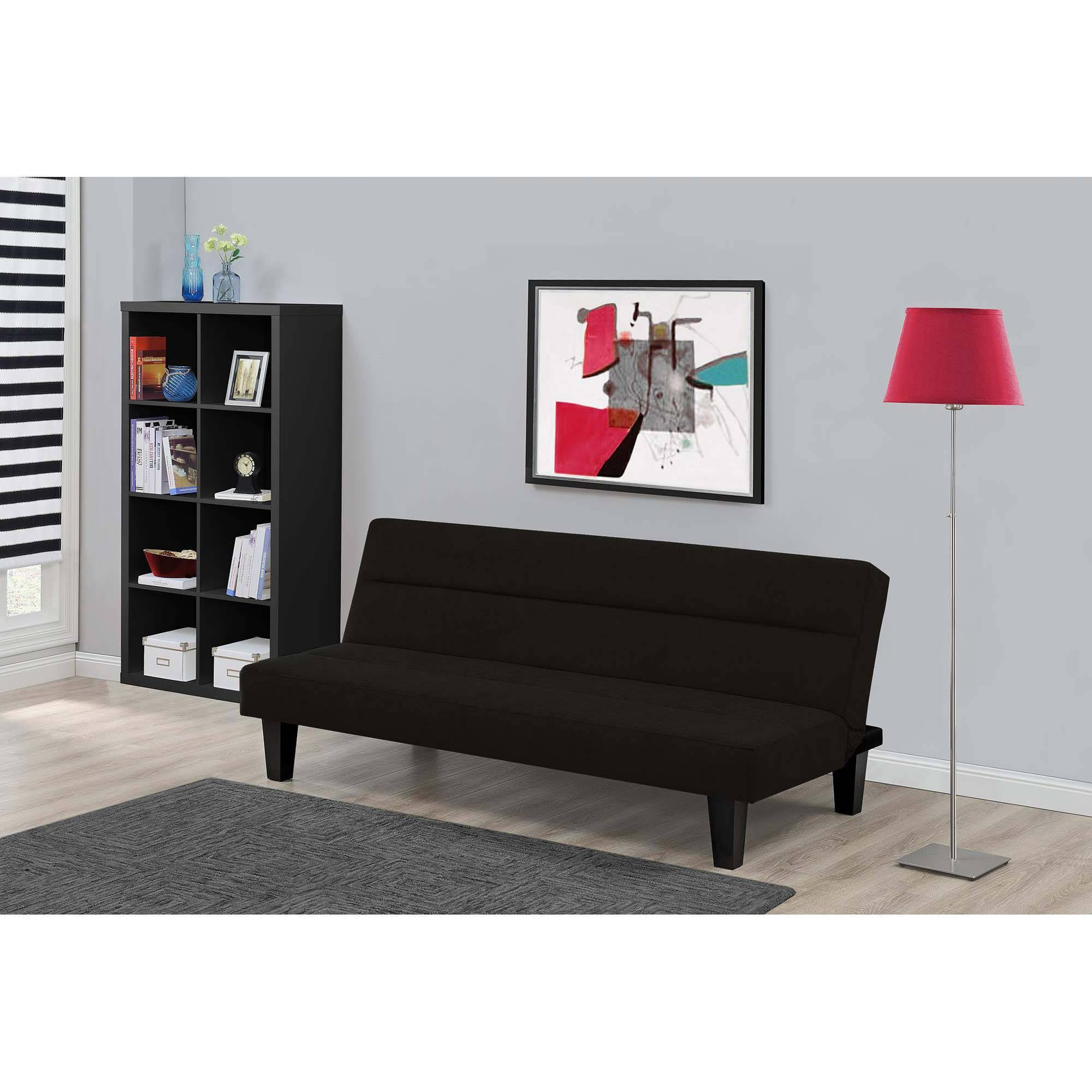 Kebo Twin Size Futon Sofa Bed Brown Black Blue Gray Couch Sleeper inside Kebo Futon Sofas (Image 11 of 15)
