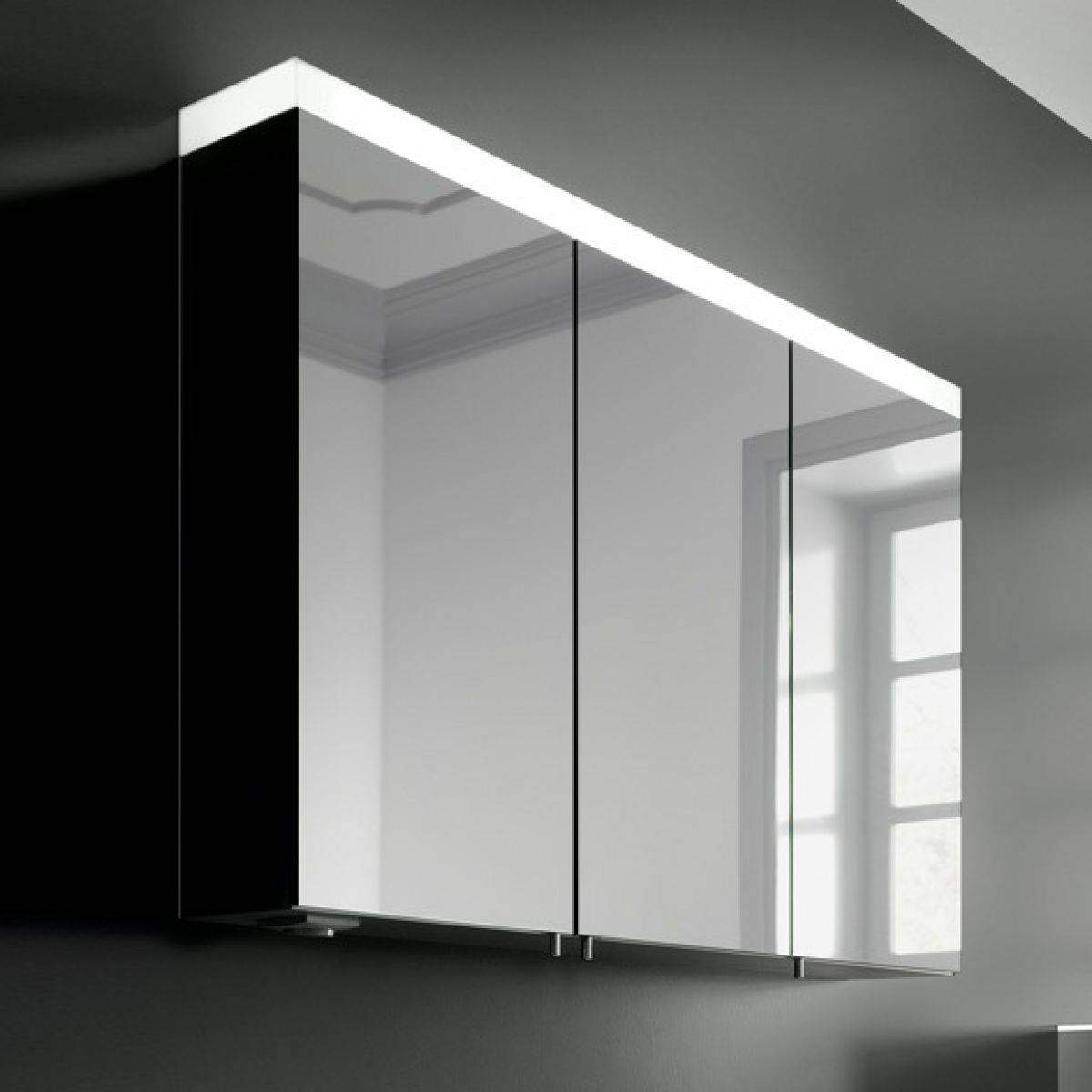 Keuco Bathroom Cabinets Bar Cabinet - Benevola within Black Cabinet Mirrors (Image 13 of 15)