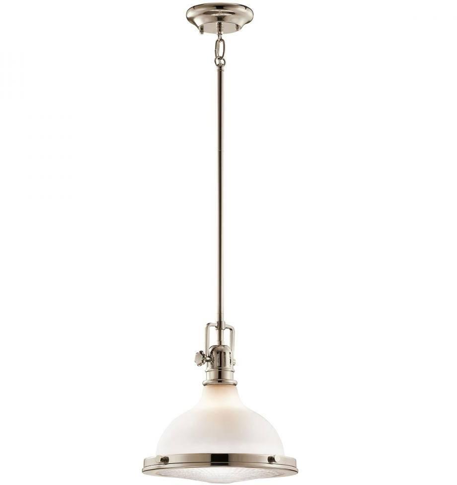 Kichler 43765pn Hatteras Bay Nautical Polished Nickel Mini Pendant In Kichler Mini Pendant Lights (View 11 of 15)