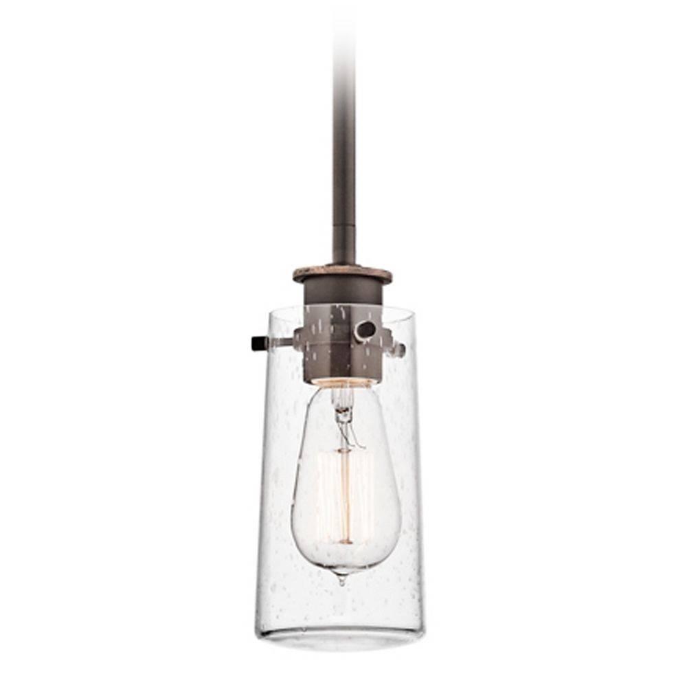 Kichler Mini Pendant Light With Clear Glass | 43060oz Intended For Kichler Mini Pendant Lights (View 4 of 15)