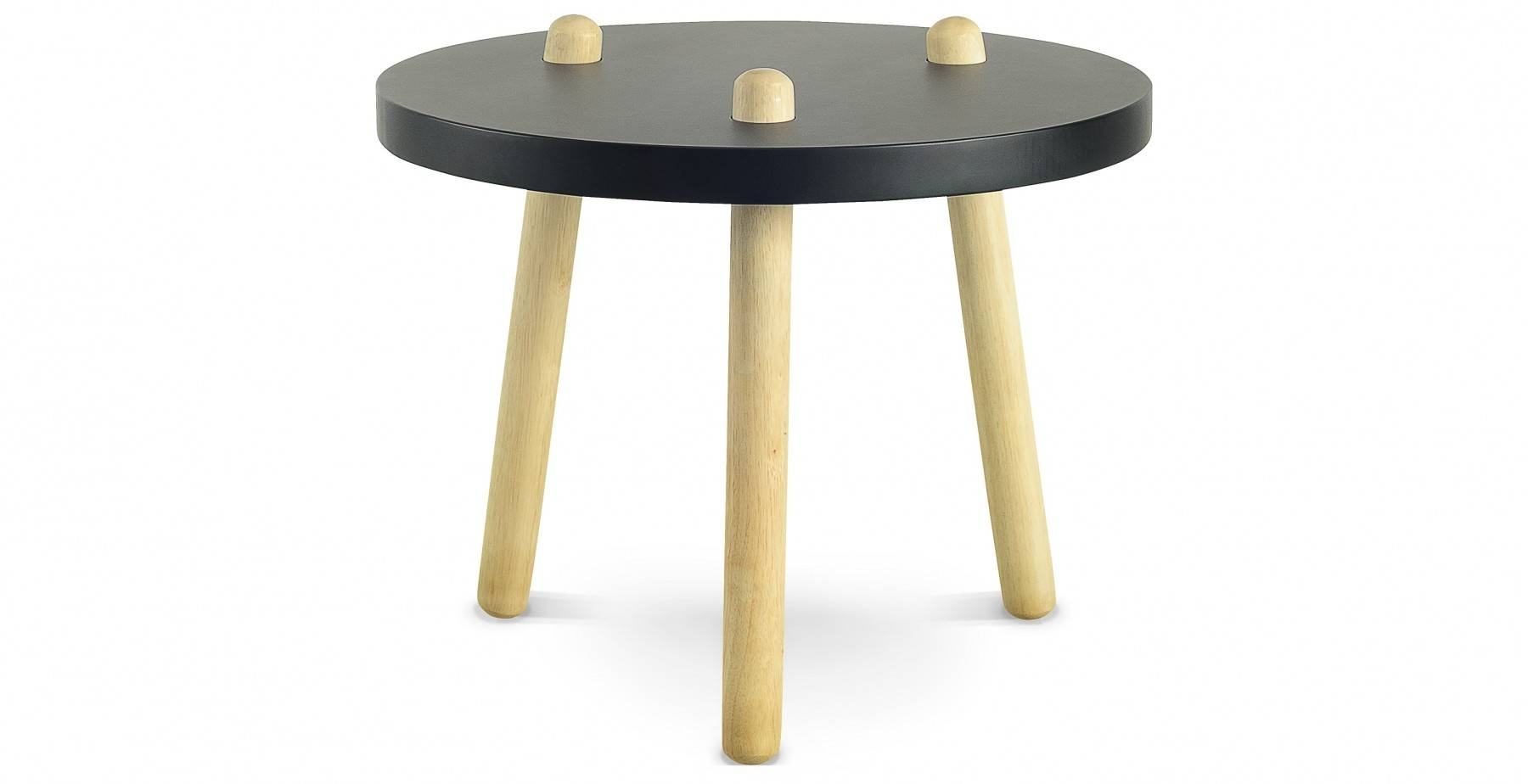 Kimi High Coffee Table, Black Fern & Grey inside High Coffee Tables (Image 11 of 15)