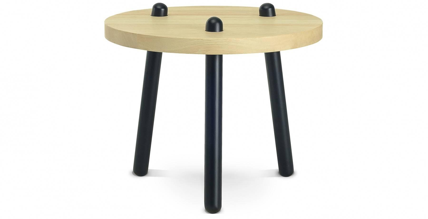 Kimi High Coffee Table, Oak Fern & Grey inside High Coffee Tables (Image 12 of 15)
