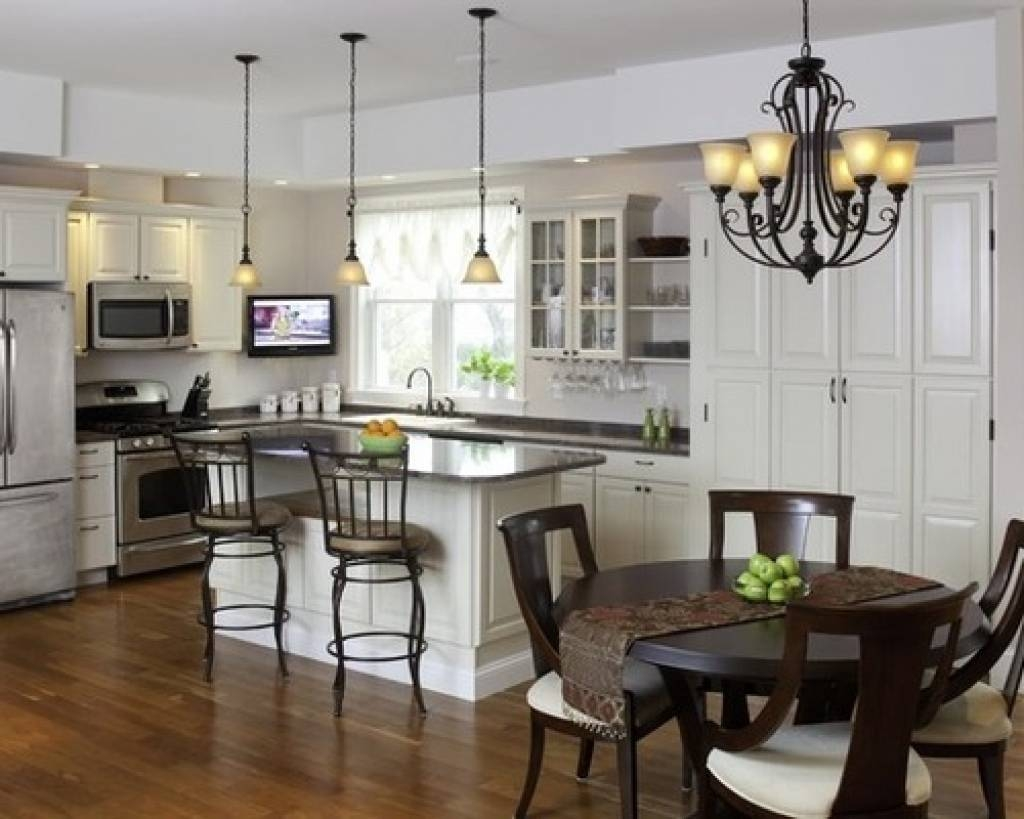 Kitchen And Dining Room Lighting Ideas Best Matching Pendant And for Matching Pendant Lights And Chandeliers (Image 8 of 15)