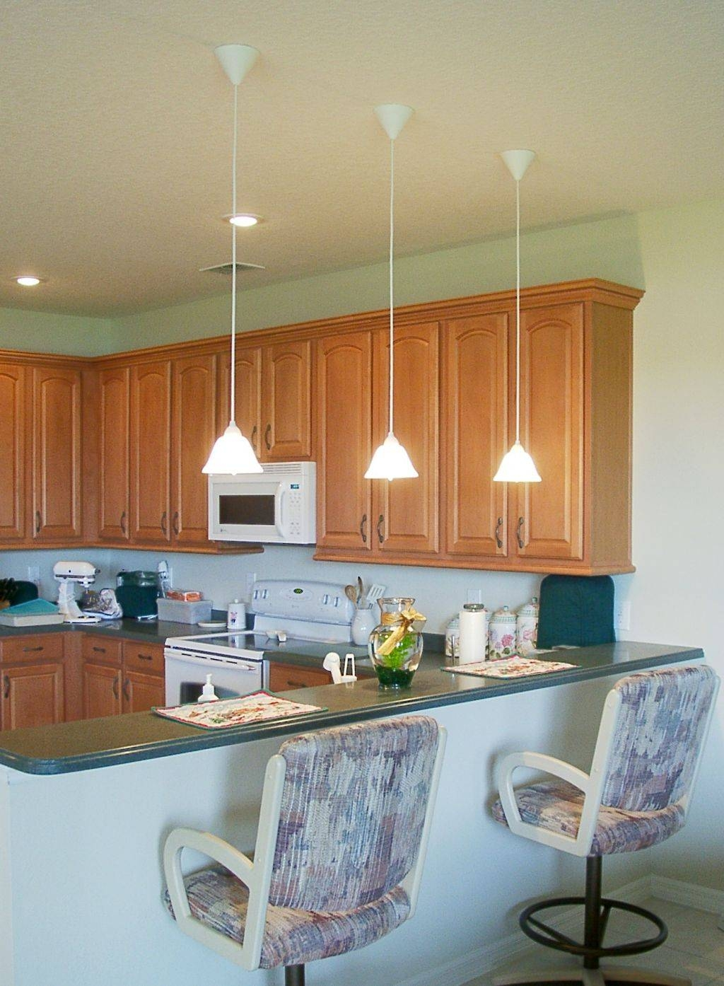 Kitchen Design: Awesome Pendant Lights Over Kitchen Island Large in Mini Lights Pendant for Kitchen Island (Image 5 of 15)