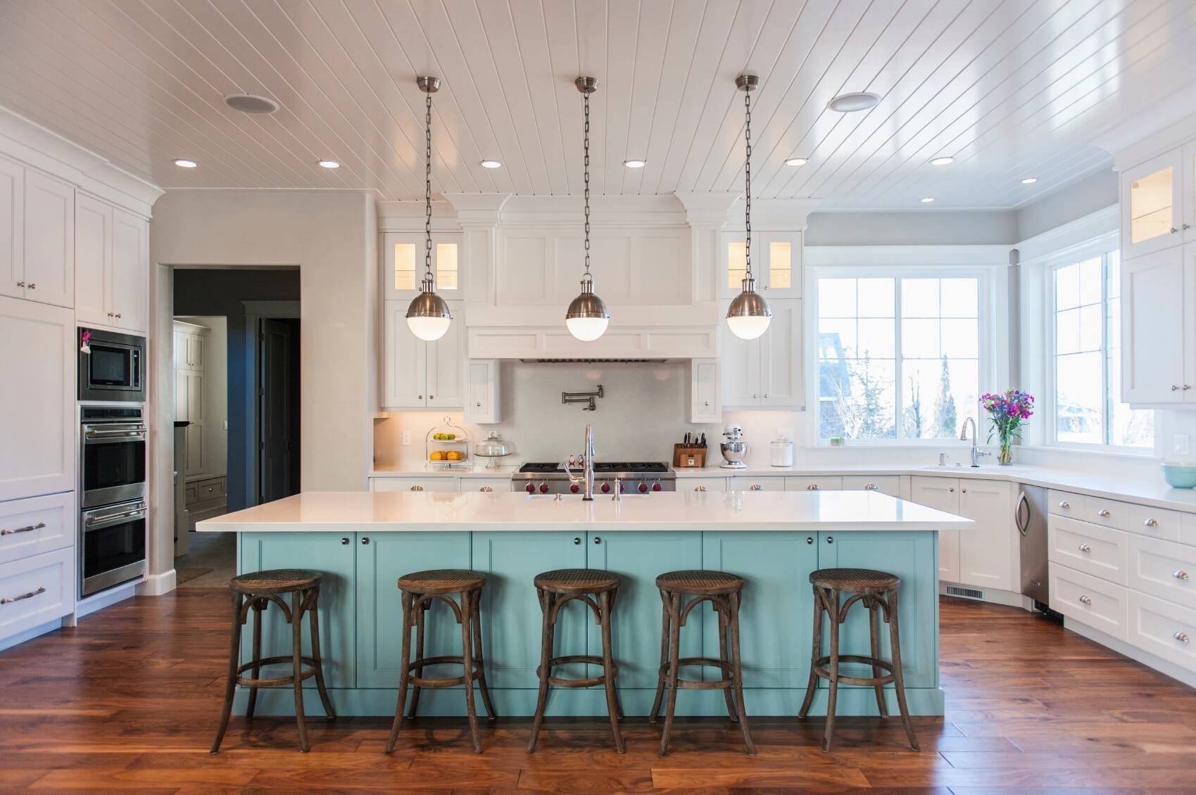 Kitchen Design : Entry Hall Pendant Lights Curved Countertop Bar pertaining to Entry Hall Pendant Lighting (Image 11 of 15)