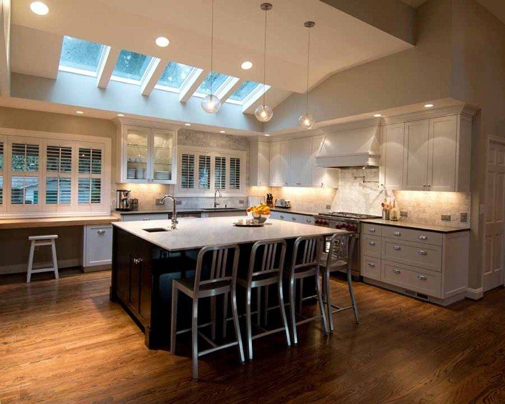 Kitchen Lighting Ideas Vaulted Ceiling - Kutsko Kitchen regarding Vaulted Ceiling Pendant Lights (Image 7 of 15)
