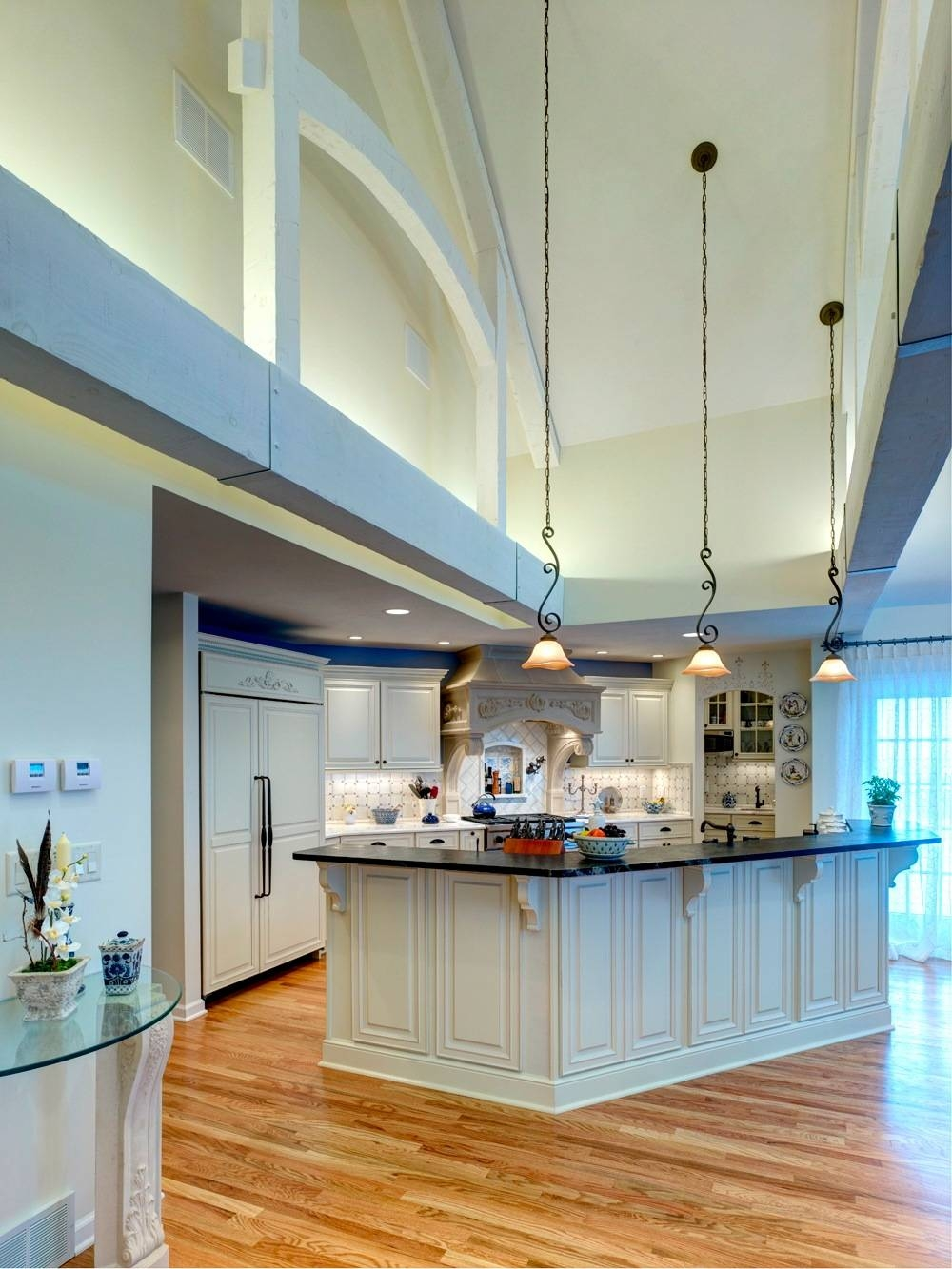 Kitchen Lighting Vaulted Ceiling - Kutsko Kitchen in Vaulted Ceiling Pendant Lights (Image 8 of 15)