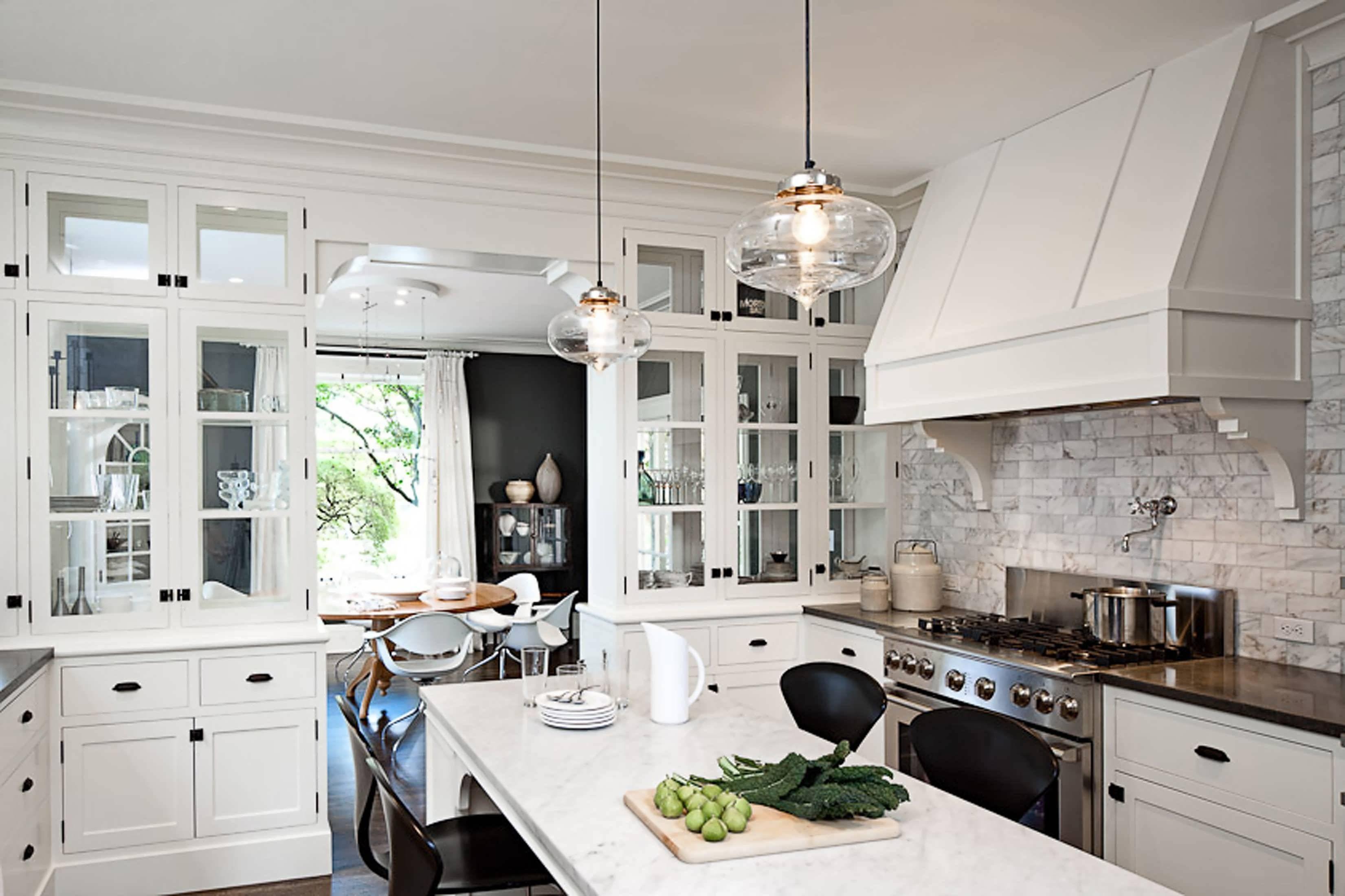 Kitchen : Long Pendant Light Kitchen Pendant Lighting Kitchen intended for Double Pendant Lights for Kitchen (Image 7 of 15)