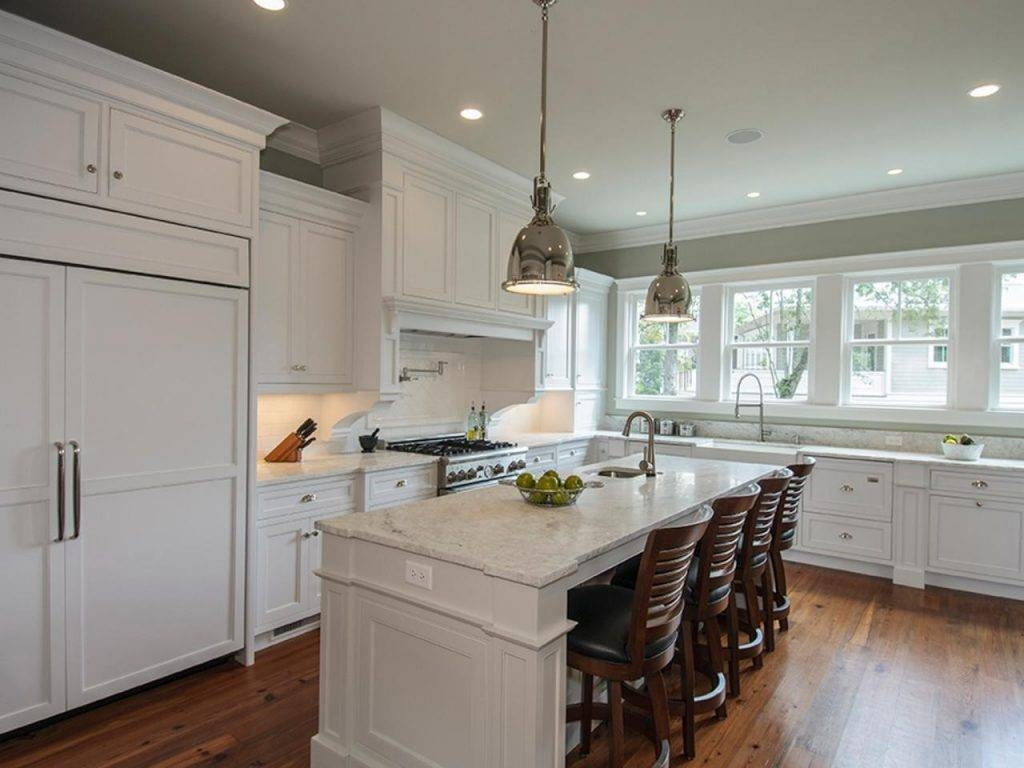 Kitchen ~ Transitional Stainless Steel Pendant Lights For 2017 With Regard To Stainless Steel Pendant Lights (View 4 of 15)