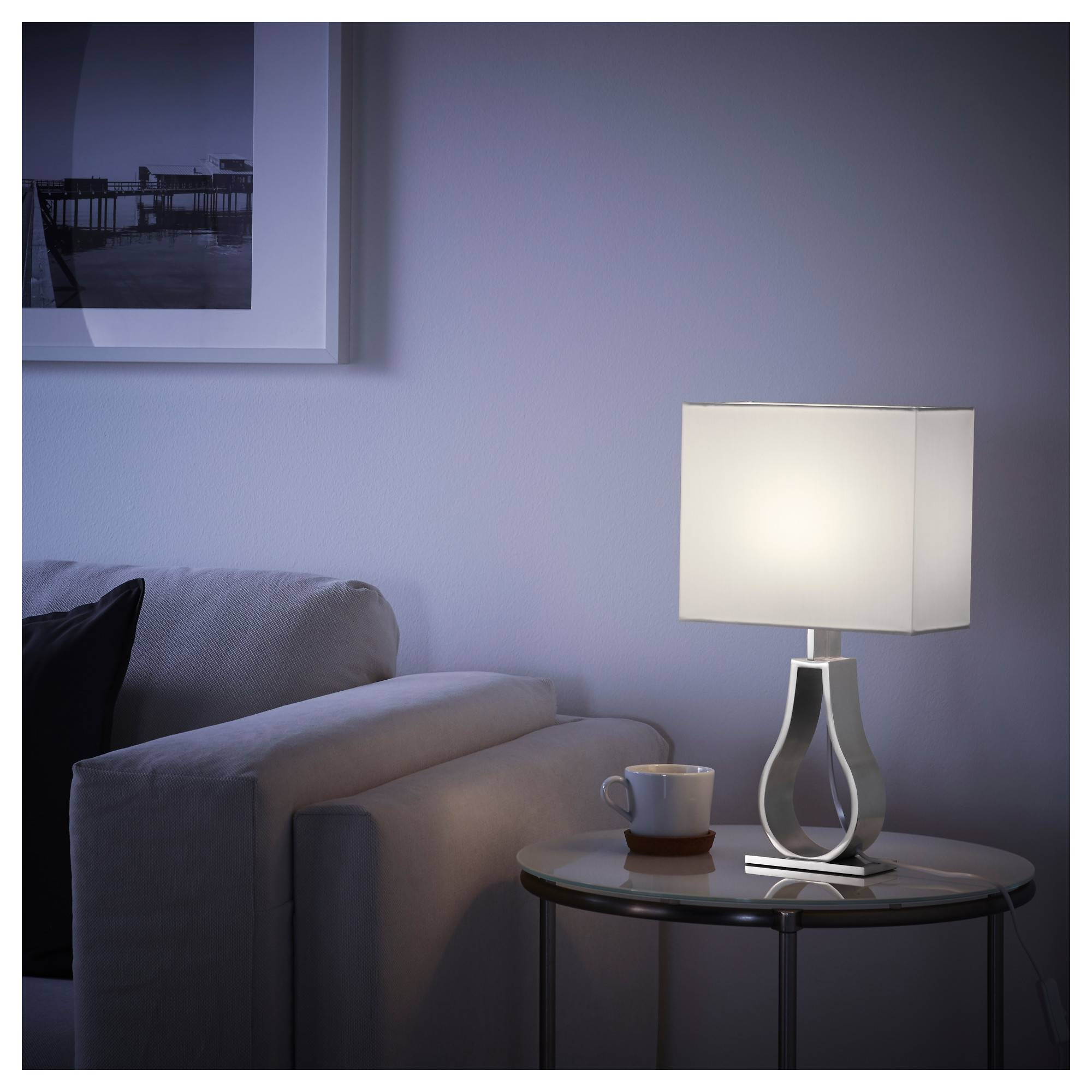 Klabb Table Lamp - Ikea with Ikea Drum Lights (Image 9 of 15)