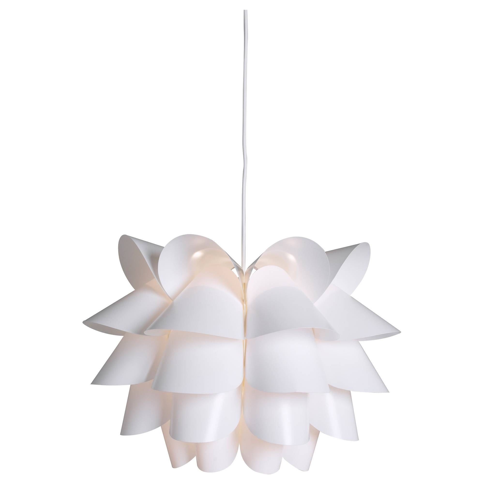 Knappa Pendant Lamp White - Ikea regarding Ikea Pendent Lights (Image 10 of 15)