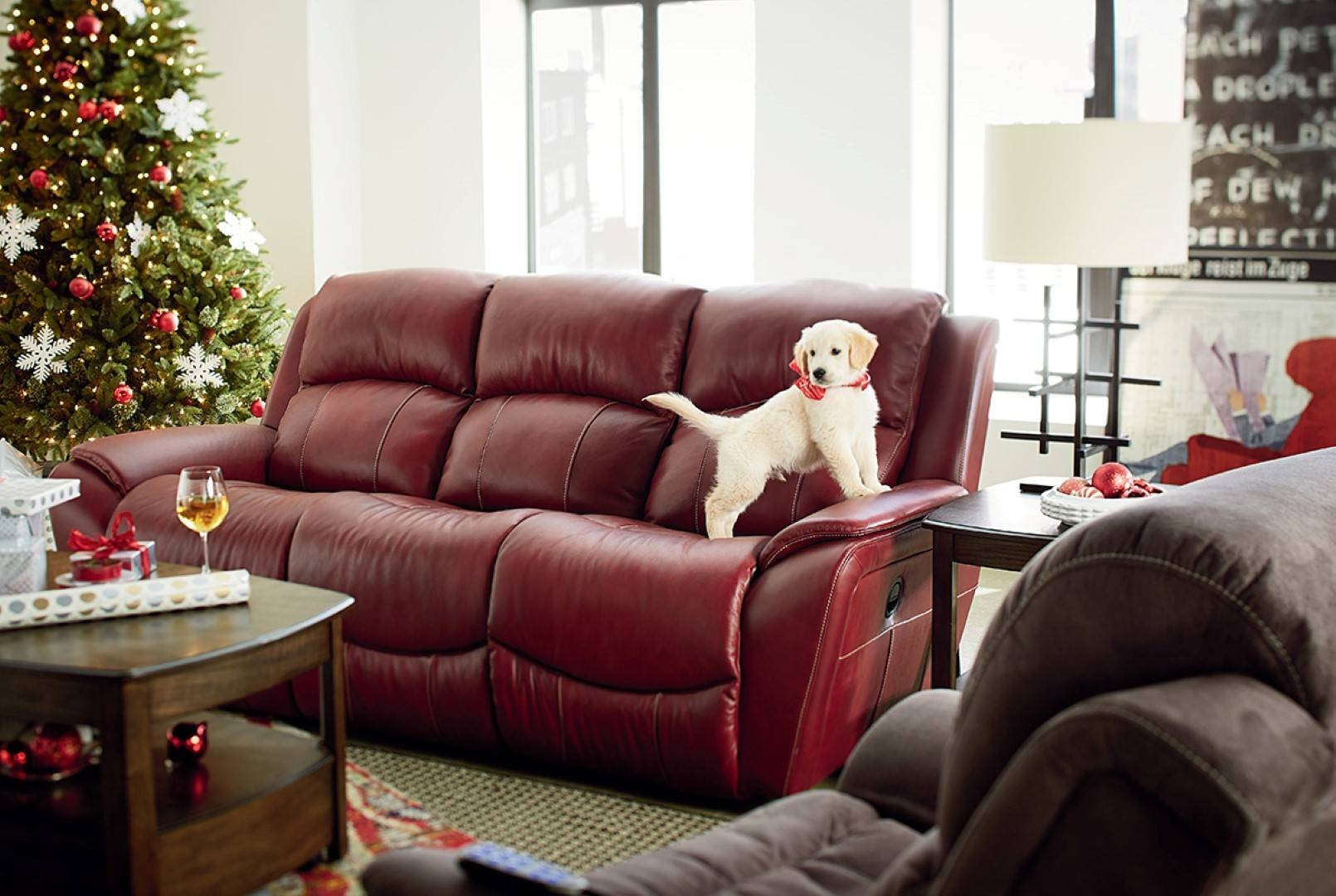 La Z Boy Barrett Reclining Sofa - Town & Country Furniture for Lazy Boy Sofas And Chairs (Image 6 of 15)